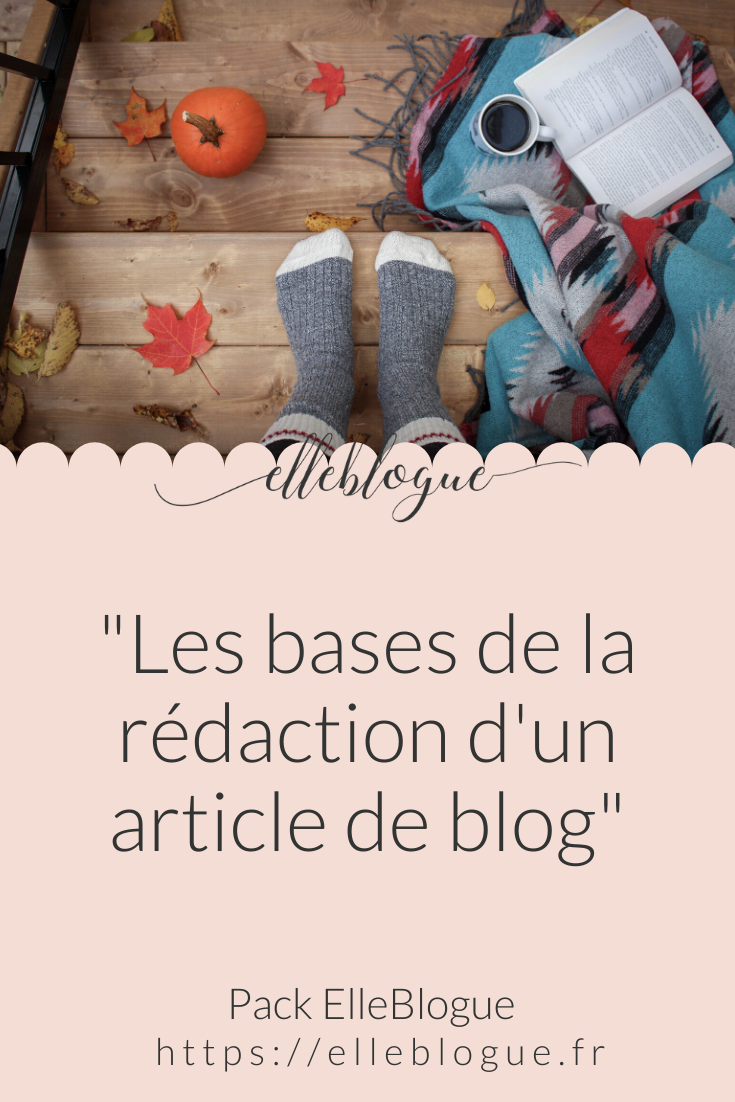 rédaction article de blog